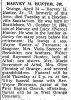 Obituary of Harvey M. Hunter Jr.