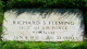 Grave Stone of Richard S. Fleming